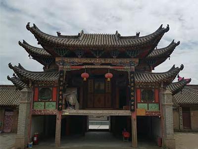 甘肃文物建筑修缮