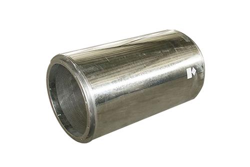圆形消声器